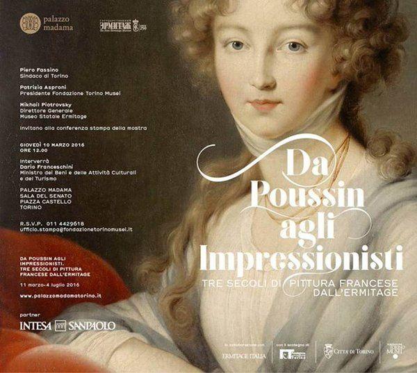 Da Poussin agli Impressionisti. Tre secoli di pittura francese dall'Ermitage
