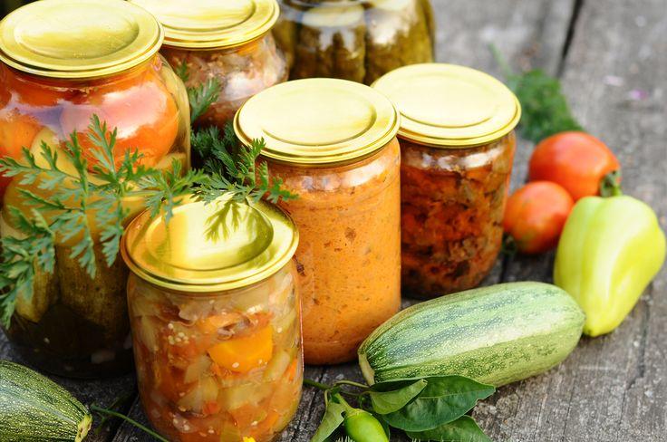Cómo hacer conservas caseras de verduras