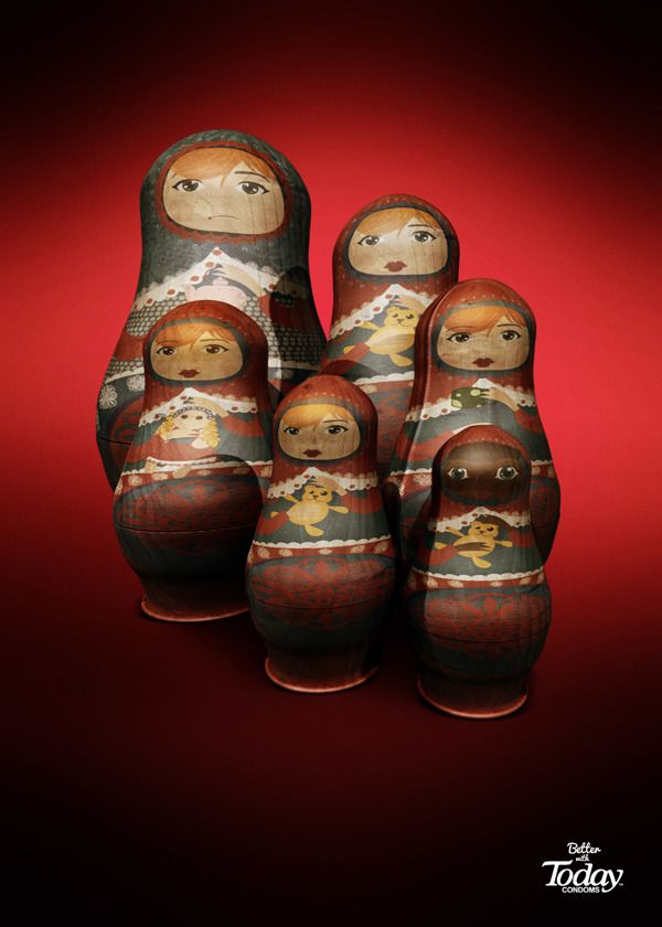 Matrioshkas by Harold Magnus and Carlos Bedoya via Behance