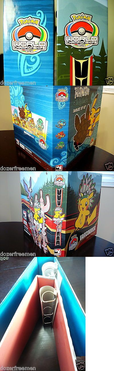 Other Pok mon TCG Items 2608: Official 2012 And 2013 Pokemon Trading Card Game World Championships Binder Set -> BUY IT NOW ONLY: $34.99 on eBay!