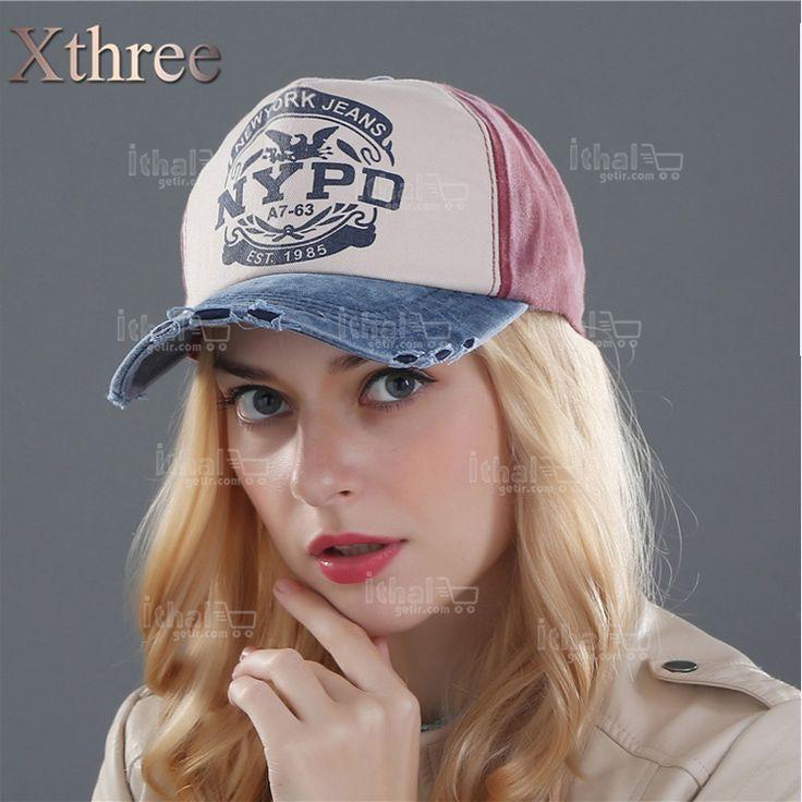 XTHREE Marka Unisex Yüksek Kaliteli Beyzbol Şapka Modelleri- IGD080608764