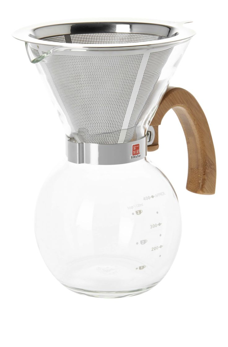 Foria - 400 ml glass coffee maker - Habitat