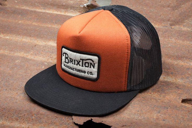 #Brixton 'Grade' Mesh Cap