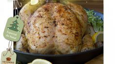 Tempero e marinada para frango assado, peru e Chester