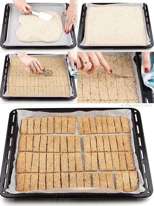 Provereni recepti. Cooks and Bakes: Krekeri od heljde