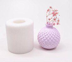 【Ever garden】 花瓶 シリコンモールド / アロマハイストーン 石膏 / 手作り 石鹸 / レジン / 樹脂 粘土 / 型 抜き型 新入荷