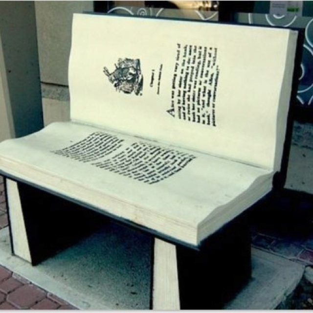 Book bench #awesome wish Adelaide city council did this!