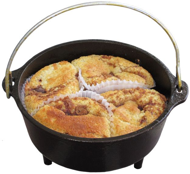 My moms recipe for dutch oven Coffee-Cake. Sooo good! I was happy to be the taste tester during her recipie creation!