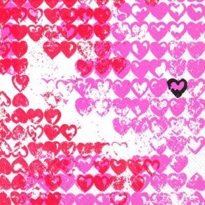 Little Heart Rød