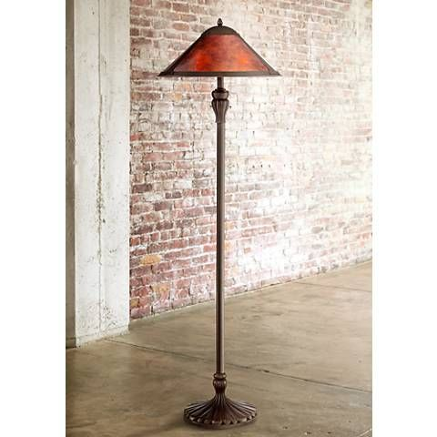 Country decor floor lamps