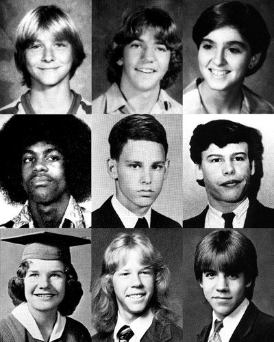 Kurt Cobain (Nirvana), Eddie Vedder (Pearl Jam), Madonna, Prince, Jim Morrison (The Doors), Steven Tyler (Aerosmith), Janis Joplin, James Hetfield (Metallica) y Anthony Kiedis (Red Hot Chilli Peppers).