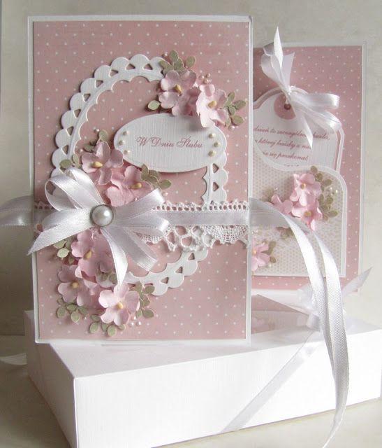 Moja papierowa kraina: Czy to możliwe...FANCY multi layer card, would be nice for wedding