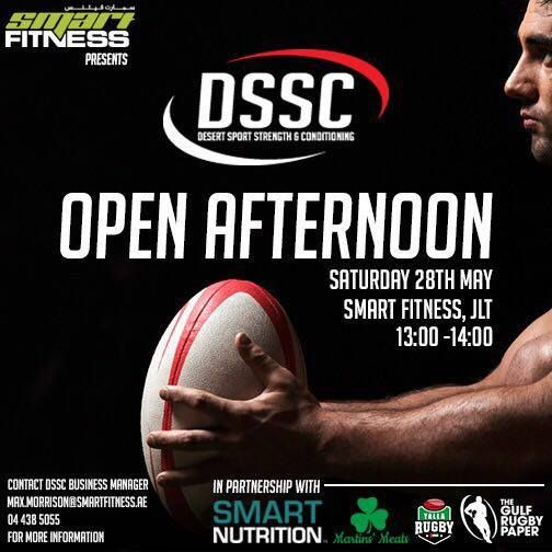 Come on down for the DSSC open this Saturday!   Come along to learn more about the programme meet the coaches check out the facility and take part in a taste of the training.  All joiners of the inaugural Pre-Season Programme will receive a complimentary tub of Clarity Athlete or Strength & Mass Whey Protein courtesy of our sponsors Smart Nutrition.  What is the programme?   27 sessions over 9 weeks on a 1:4 athlete:coach ratio delivered by international standard coaches.  3 training blocks…