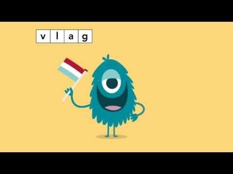 ▶ Taal actief Spellinganimatie woorden met f en v - YouTube