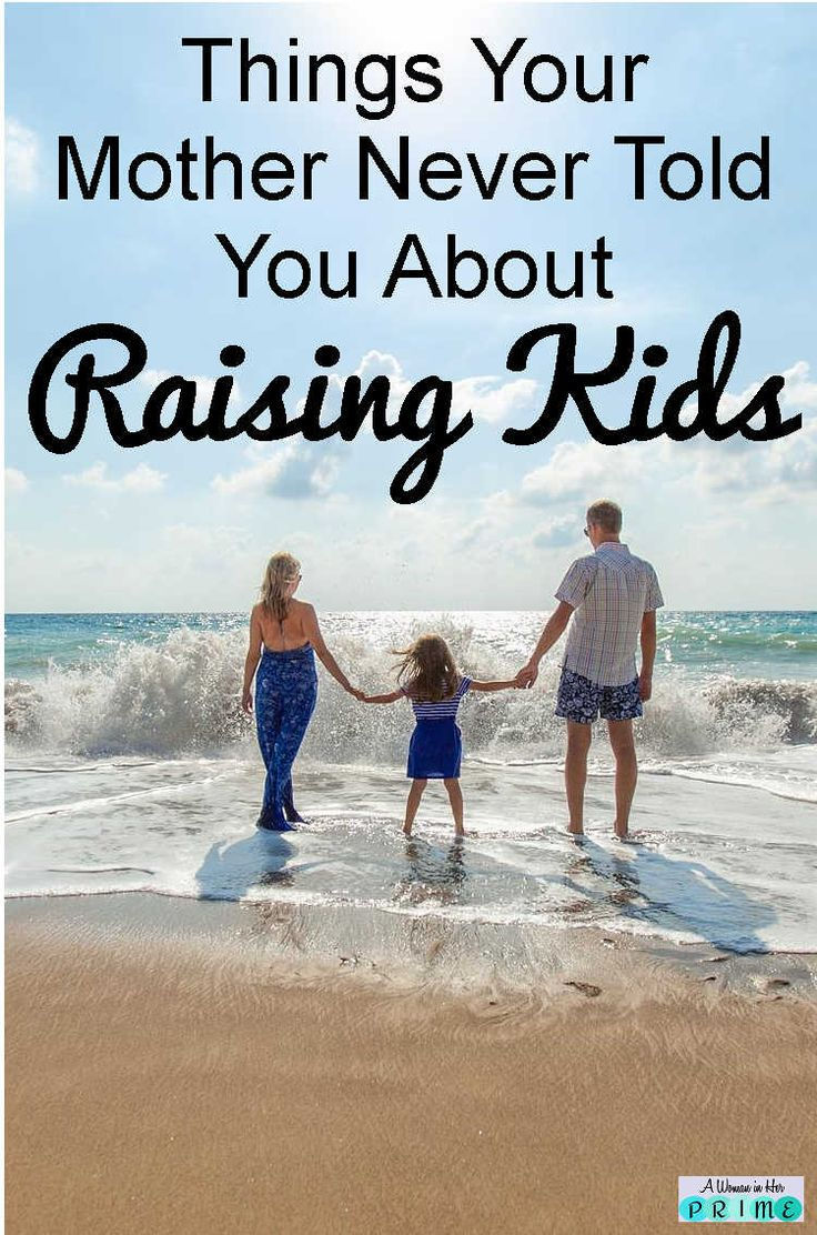 Whether you're parenting toddlers or teens, each age has challenges. Here are some pros and cons of each stage. http://www.awomaninherprime.com/things-mom-didnt-tell-you-about-kids/