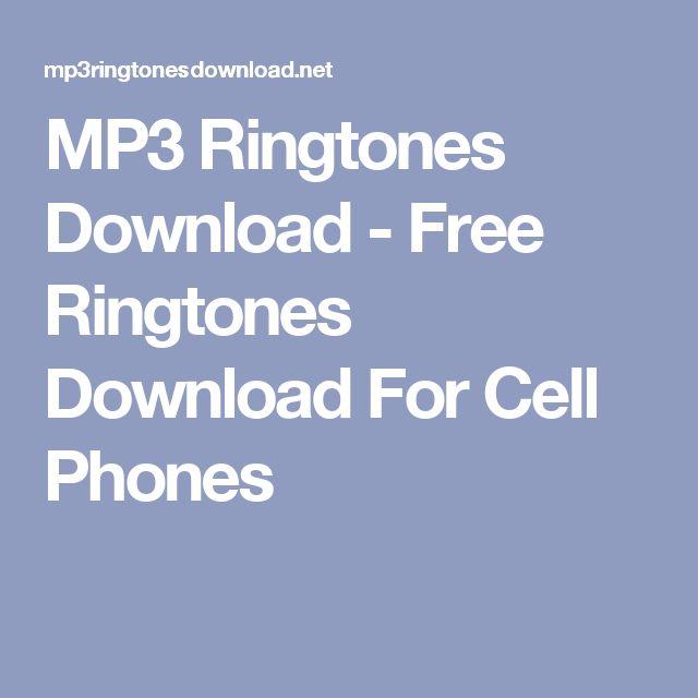 MP3 Ringtones Download - Free Ringtones Download For Cell Phones