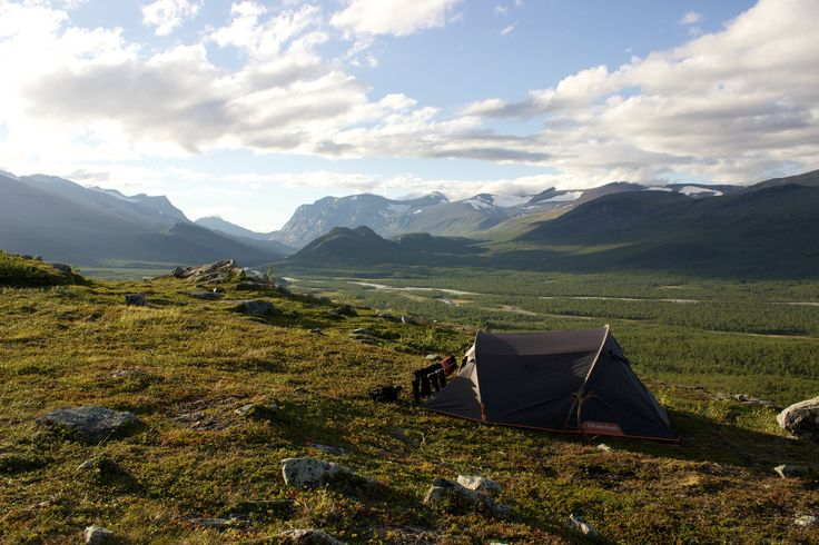 Camping in Rapadalen