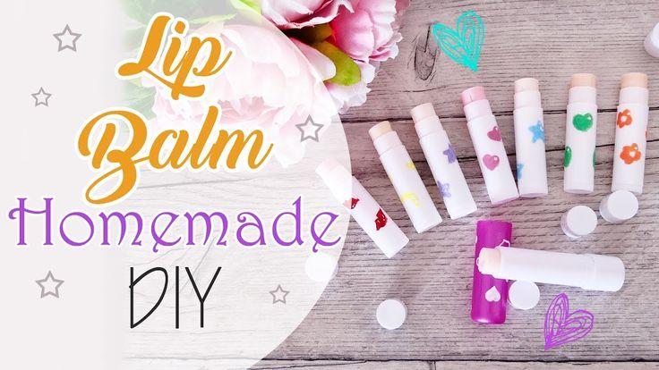 DIY Lip Balm - Burro labbra fatto in casa