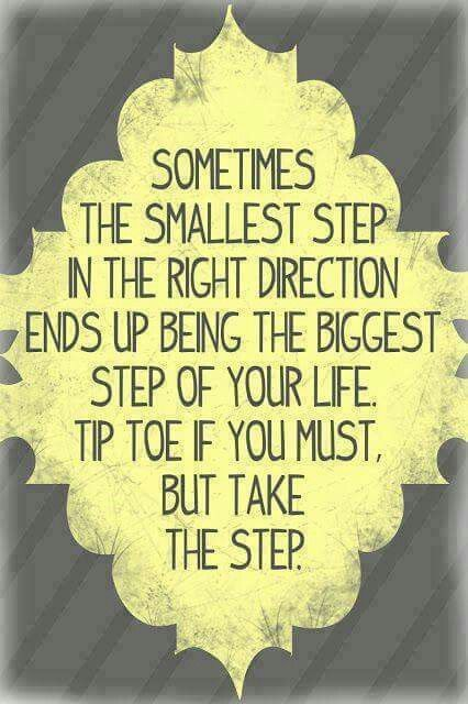 Take that step into your new life