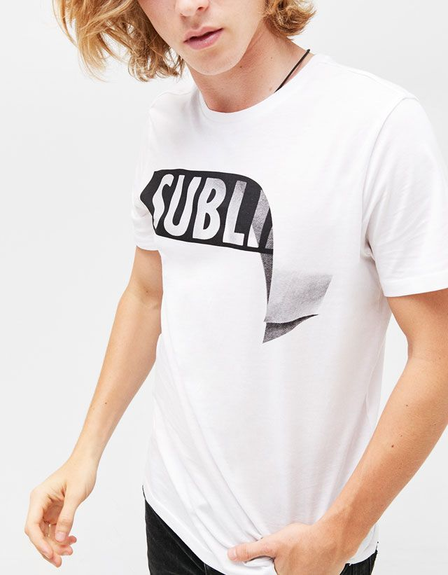 Camisetas - ROPA - HOMBRE - Bershka Colombia