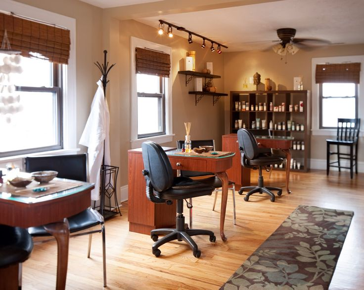 17 best Nail Stations images on Pinterest | Nail salons, Hair dos ...