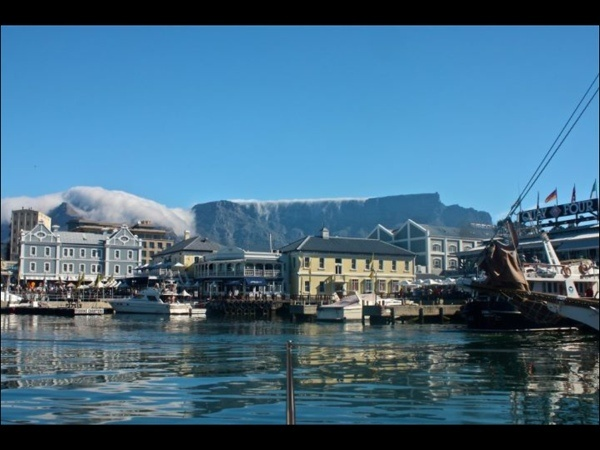 """Table Mountain with the """"Table Cloth"""""""