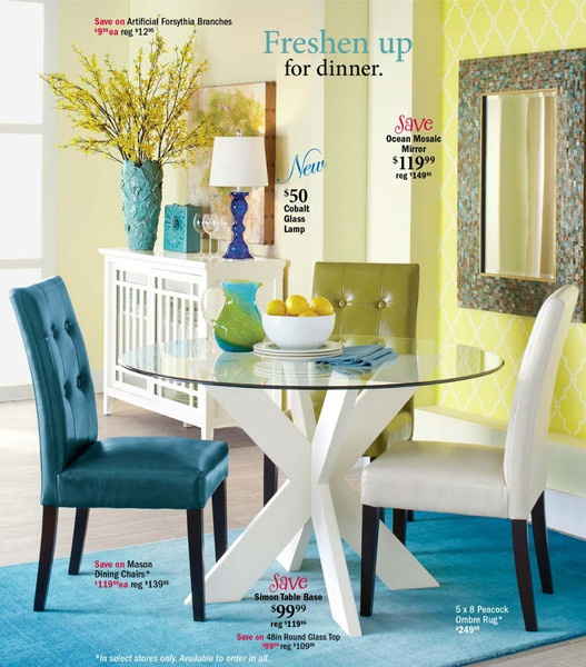 Pier 1 Importsu0027 Latest Catalog Features Our Moroccan And Geometric Stencils