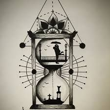 Image result for hourglass drawing