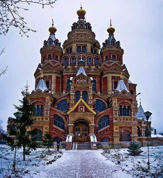 Navy Blue — ancientorigins:  Saints Peter and Paul Cathedral...