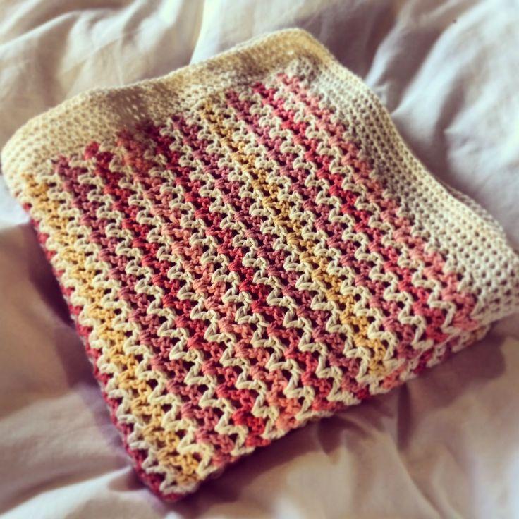 Haak-en-stekie: Lerato's baby blanket