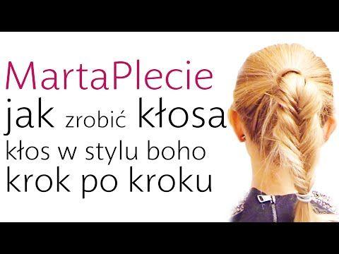 Proste i szybkie fryzury - efektowny kłos [VIDEO] - Zeberka.pl