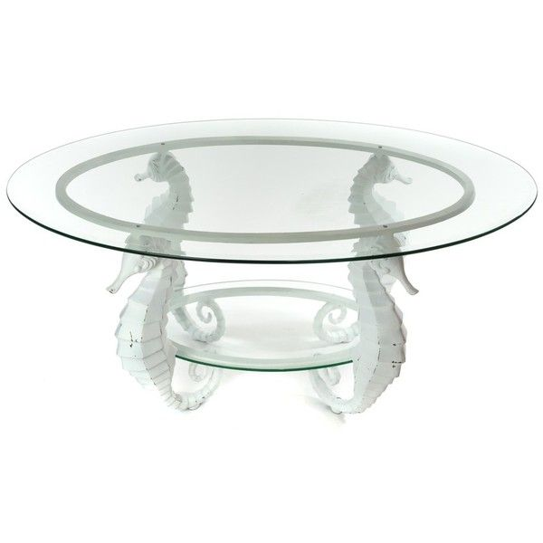 Aluminum Seahorse Coffee Table | Home Furniture | Tables Stands -... ($260) ❤ liked on Polyvore featuring home, furniture, tables, accent tables, aluminium table, seahorse table, seahorse furniture, aluminum table and aluminum furniture