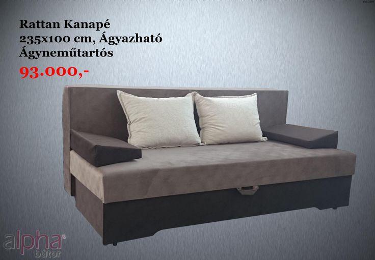 Kedvező árú nagy fekvőfelületű kanapé