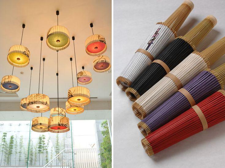 hiyoshiya: kotori - japanese umbrella lamps