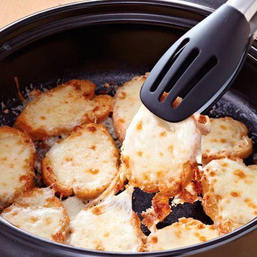 Cheesy Bruschetta - The Pampered Chef® www.pamperedchef.biz/ashtonlindsey