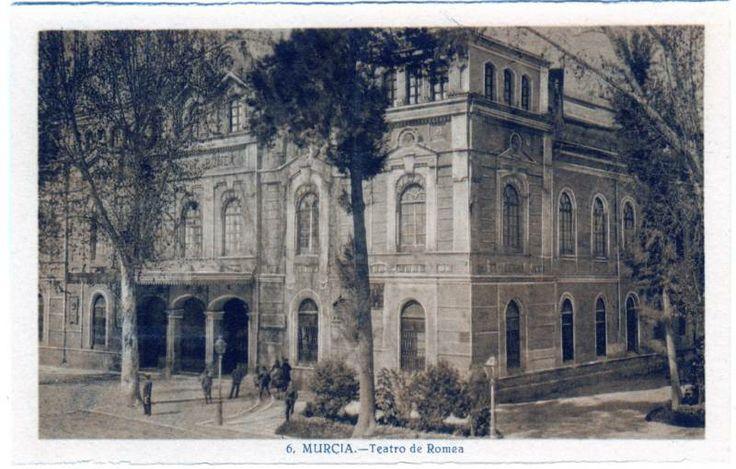 Visor Archivo General Región de Murcia. FOT_POS,03/086 / Teatro Romea. Murcia c. 1904