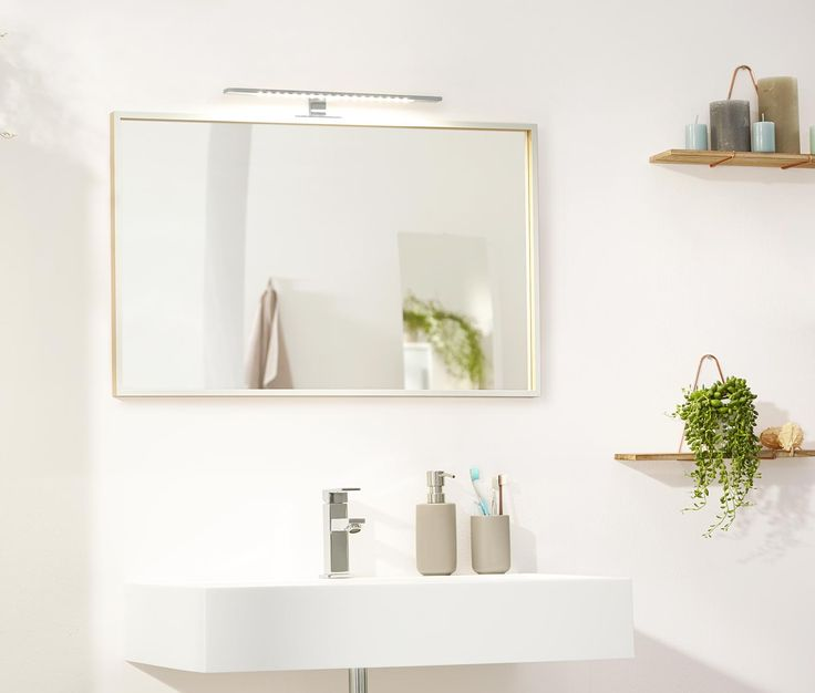 Svítidlo nad zrcadlo s LED
