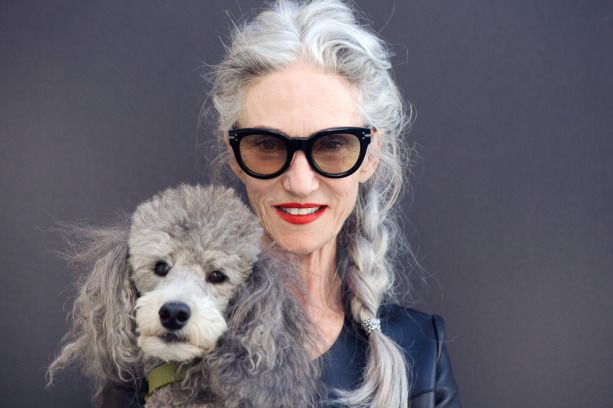 """""""In the end, nobody's perfect, and we're all doing the best we can."""" Wise words from Linda Rodin."""