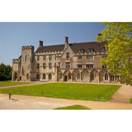 Battle Abbey School Battle East Sussex England Canvas Art - David Wall DanitaDelimont (19 x 12)