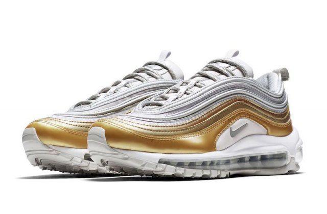 Nike Air Max 97 Vast GreyMetallic Silver Metallic Gold