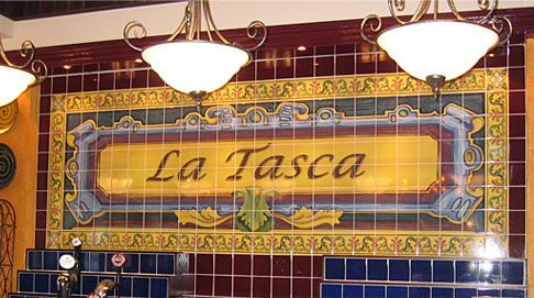 Tiled Space digitally printed and produced these tiled murals for La Tasca Restaurant chain