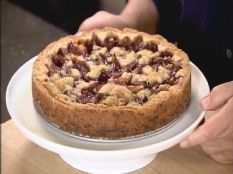 Barefoot Contessa - Recipes - Italian Plum Tart. This is so delicious with the plums from our tree! The picture in the pin does not do this justice. I used at least 1 pound plums, halved the creme de casis and added vanilla. Next time I will make it in a tart pan.