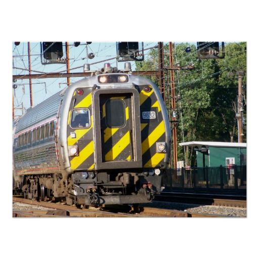 cab amtrak amfleet posters budd poster train cars trains