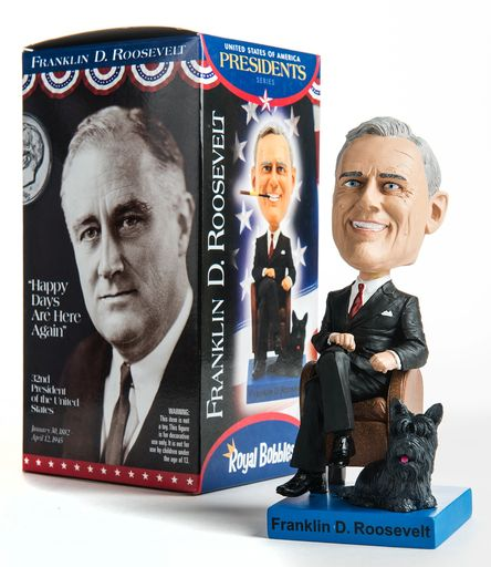 FRANKLIN ROOSEVELT BOBBLEHEAD : The Store at LBJ