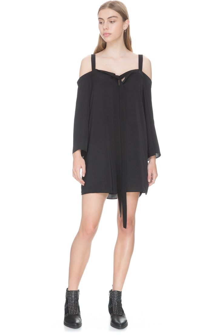 The Fifth Label - The Fifth - In Full Light Long Sleeve Dress - Black