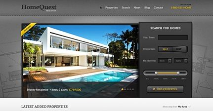 Real Estate WordPress Theme | HomeQuest