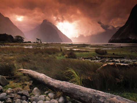Milford Sound, Fiordland, South Island, New Zealand Photographic Print by Doug Pearson at AllPosters.com