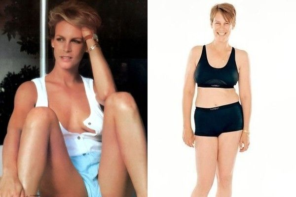 Jamie Lee Curtis - Here Are All the Celebs Who Have Spoken Out Against Photoshop - Photos HONEST aging.