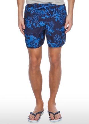 Плавательные шорты с флористическим принтом за 599р.- от OSTIN
