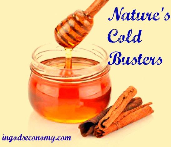 Use powerful natural remedies right from your pantry to fight colds and flu! Medicine your kids won't mind taking.  Honey + Cinnamon = anti-viral gold. Peppermint oil + Rosemary oil + hot water = clear breathing.  Apple Cider Vinegar + Hot Tea or Hot Water = powerful phlegm fighter.